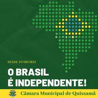 07 de Setembro | Dia da Independência do Brasil