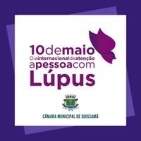 10 de Maio -  Dia Internacional de Atenção à Pessoa com Lúpus