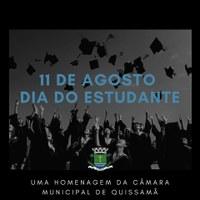11 de Agosto - Dia do Estudante.