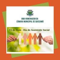 15 de Maio dia do Assistente Social