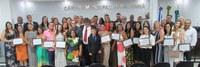 Abertura do 1º período Legislativo Ordinário de 2020 entrega Moções de Aplausos aos Diretores de Escolas que atuam na Rede pública e particular no Município de Quissamã.