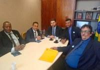 Mesa Diretora em Brasília com o Deputado Federal Wladimir Garotinho.
