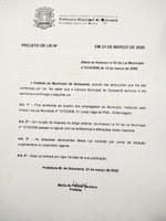 Aprovado Projeto de Lei que tem por finalidade a abertura de 01 (uma) vaga de PNS Enfermagem para convocação de candidato do Concurso Público n° 01/2014