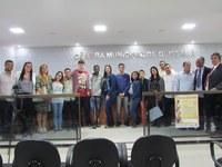 Aula Prática | Vereadores Jovens visitam a Câmara