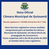 Decreto Legislativo n° 133/2020.