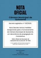 NOVO DECRETO - REPUBLICADO POR INCORREÇÕES