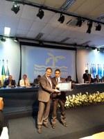 Presidente da Câmara de Quissamã recebe Diploma de Mérito Político.