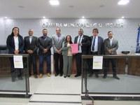 Quadra Esportiva Coberta do bairro Santa Catarina receberá o nome do saudoso senhor João Antônio Cruz.
