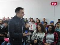 Secretário Estadual de Educação visita Quissamã e anuncia reforma do Colégio Visconde.