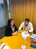 Vereadora Alexandra Moreira solicita ao Governo do Estado melhorias da estrada para Barra do Furado.